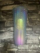 Starbucks Limited Indonesia Bling Light Icy Sakura Blue Studded Cold Cup Tumbler