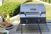 Mini Portable Table Top Bbq Grill Propane Gas Rv Camping Picnic Boat Cooker Gift