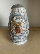 2000 Harley Davidson Motorcycles Limited Collector Beer Stein With Certificate
