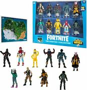 Fortnite Chapter 1 Collection Battle Royale 10 Action Figures Sea X Map Pls Read