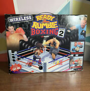 Rare Midway Wireless Ready To Rumble Ps2 Virtual Boxing Game Rc 2001 New