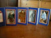 Wizard Of Oz 1939 Lowes 1966 Mgm Dorothy, Tin Man, Scare Crow, Lion New In Boxes