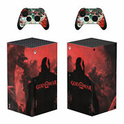 Xbox Series X Console Controllers Skin Vinyl Decals Stickers Covers God Of War