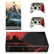 Xbox Series S Slim Console Vinyl Skin Decals Stickers Covers Wraps God Of War