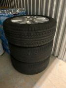 Set Of 4 Pirelli Tires With Rims, Great Treading And Stored In Ac Warehouse.