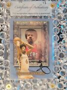 Autographed 1999 Topps Classic Collection Julius Erving No.cl 4 Sixers