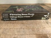 Vintage Lot Of 3 Time-life Encyclopedia Of Gardening Books Brown Hardcover