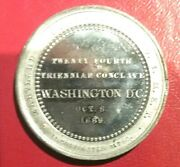 Pgasteelers1washingtond.c.1889 Maryland Commandery 1 24th Tri. Conclave K.t.
