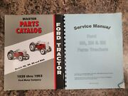 Ford Tractor Service And Parts Manuals 9n 2n 8n