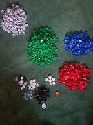 930+ Plastic Bottle Caps Soda And Water Arts And Crafts Supplies Codes Lot Pop