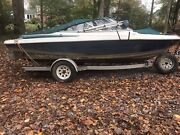 1996 Maxum 1900sr2 Complete Boat With Parts Or Great Engine Rebuild Project