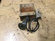 Halftrack Receptacle Dashboard Light Double Contact Late Version