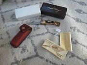 Schrade Uncle Henry Lb-8 Knife Made In Usa Lot16776
