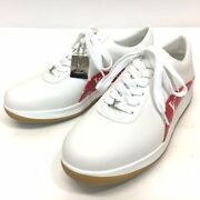 Unused Louis Vuitton X Supreme 1a3eq5 Monogram Sports Shoes Sneakers White/red