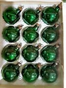 Vintage Antique Glass Christmas Ornaments German Feather Tree Green Iob