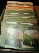 Lot Of 112 Antique Stereoview Cards-great Mixed Grouping Inc.keystone-look