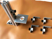 True Channel Binding Router Jig With Guitar Body Cradle