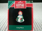 Hallmark Ornament 1992 Going Places---dated----------------------------miniature