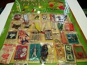 Party Time Toy Calendar A Toy A Day, Nos Cardboard Display By Linemar