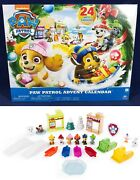 New Paw Patrol Advent Calendar 24 Gift Nickelodeon Christmas Holiday Spin Master
