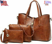 Tcife Purses And Handbags For Womenand039s Satchel Shoulder Tote Bags Wallets 3 Piece