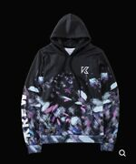 Krew District All Over Galaxy Brush Hoodie Youth Xl New