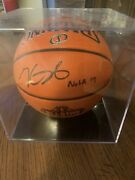 Kevin Durant 27/35 Autographed All Star Spalding Game Ball Series Inscription