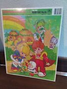 1983 Rainbow Brite Extra Thick Frame-tray Puzzle By Golden Sealed