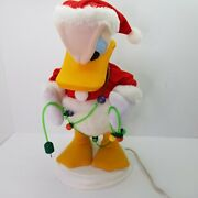 Disney - Santaand039s Best Donald Duck - Angry Christmas Lights - Animated Motionette