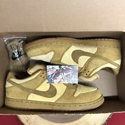 Ds Nike Sb Dunk Low Pro Reese Forbes Wheat 304292-731 Size 11 Pigeon Panda Pig