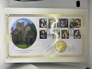 Benham 2020 Coin Cover Christmas Andpound5 2017 Iom Isle Of Man Stamps