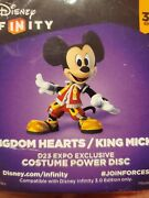 D23 King Mickey Disney Infinity Power Disc Exclusive D23 Expo 2015