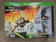 New Sealed Disney Infinity 3.0 Edition Star Wars Starter Pack Xbox One