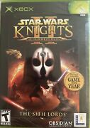 Star Wars Knights Of The Old Republic 2 Xbox