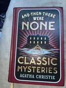 And Then There Were None And Other Classic Mysteries By Agatha Christie -leather