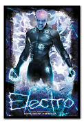 Framed The Amazing Spiderman 2 Electro Poster Ready To Hang New