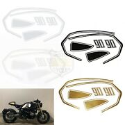 Motorcycle Reflective Tank Side Rear Storage Box Stickers For Bmw R Nine T Racer