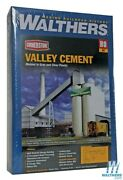 New Walthers 933-3098 Valley Cement Plant Kit Ho Scale Train Free Us Ship