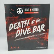 Hunt A Killer - Death At The Dive Bar - Complete Game - Excellent Condition