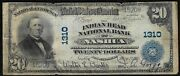 1905 20 Ch1310 The Indian Head National Bank Of Nashua Hew Hampshire