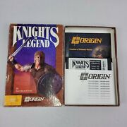 C64/128 Commodore 64 Knights Of Legend 5 1/4 Disc Boxed Rpg Video Game Origin