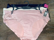 Vince Camuto Womens No Show Hipster Underwear Panties Nylon Blend 3-pack S