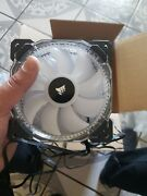 Corsair Hd120 Rgb 120mm Led 3 Fan Kit With Lighting Controller