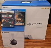 Sony Ps5 Blu-ray Edition Console - White - Bundle