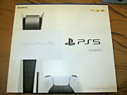 New Sony Playstation 5, Headset, Controller And Charging Station, Camera And Remote