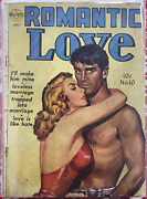 Romantic Love Issue 10 Golden Age Comic 1952 By Avon Publishing