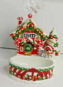 Dept 56 Lighted Mandmand039s Christmas Candy House New Old Stock 2004