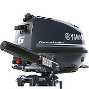 New Yamaha F6smha 6hp 4 Strokeshort 15manual Start Outboard Manf. 10/2020