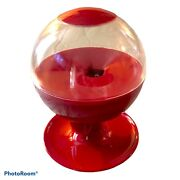 """Motion Activated Candy Dispenser Gumball Machine Touchless Red 12"""""""