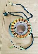 Yamaha F100tlry 100hp 4stroke Outboard Stator And Base Assy 67f-85560-00-00